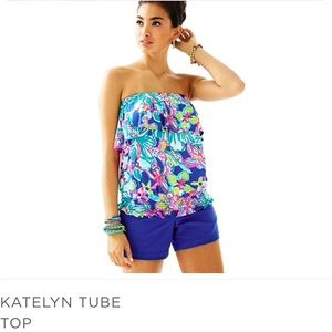 Lilly Pulitzer Katelyn Tube Top